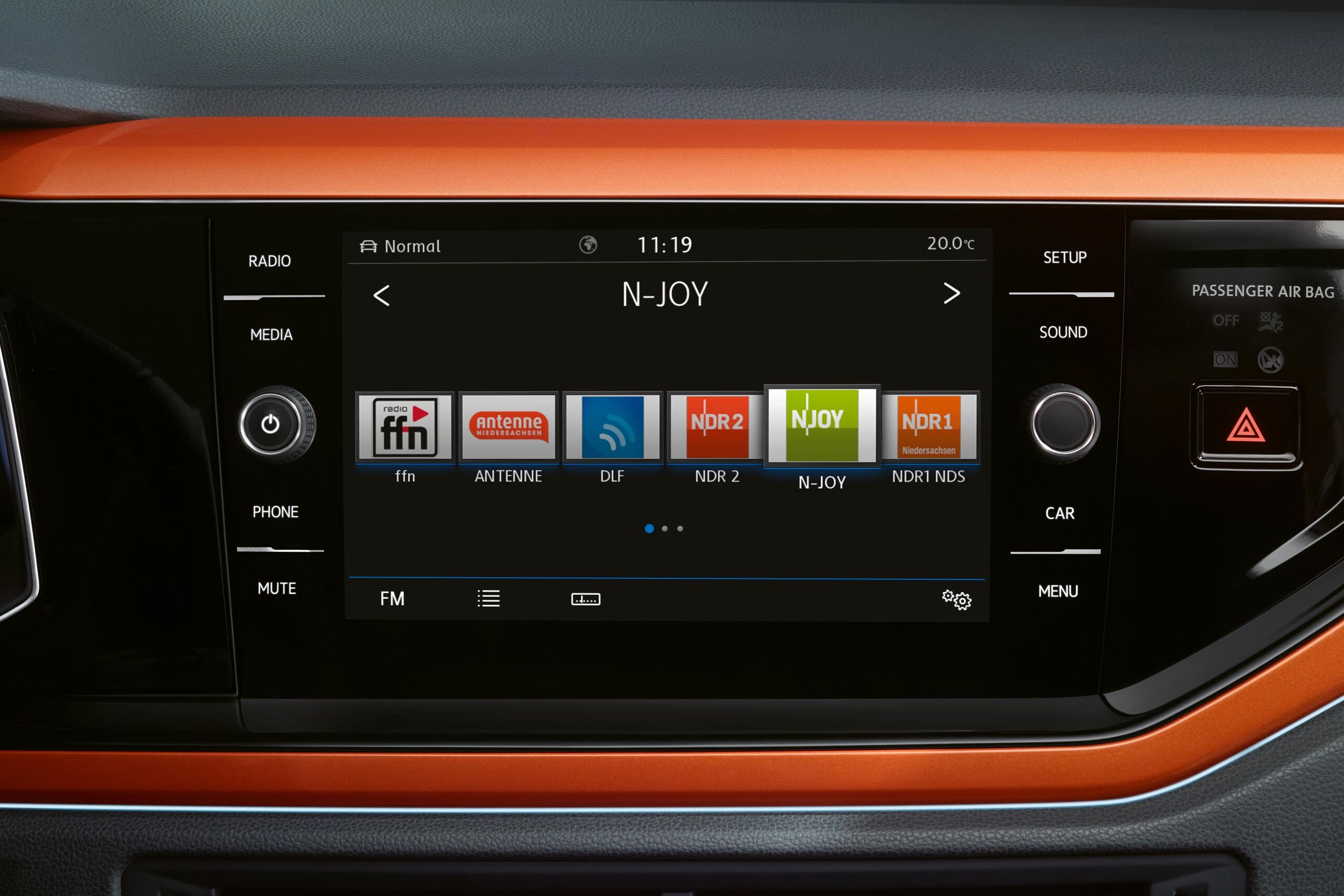 volkswagen vw polo radio