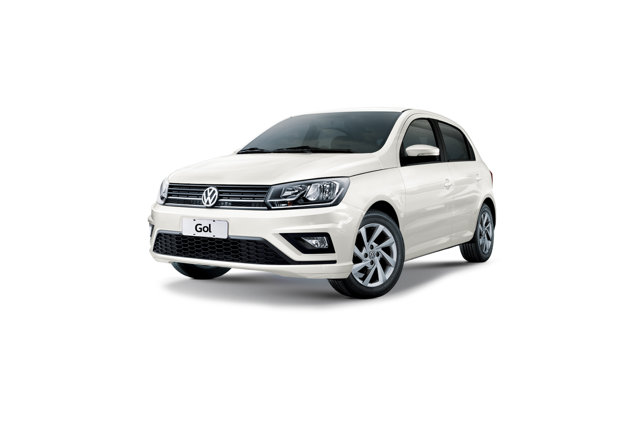 Color Blanco Candy del Gol Hatchback de Volkswagen