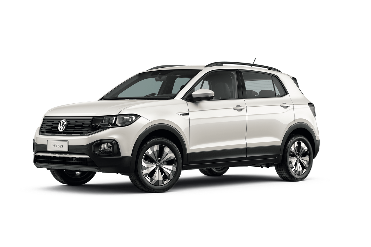 Color Blanco Puro del Nuevo T-Cross Suv de Volkswagen