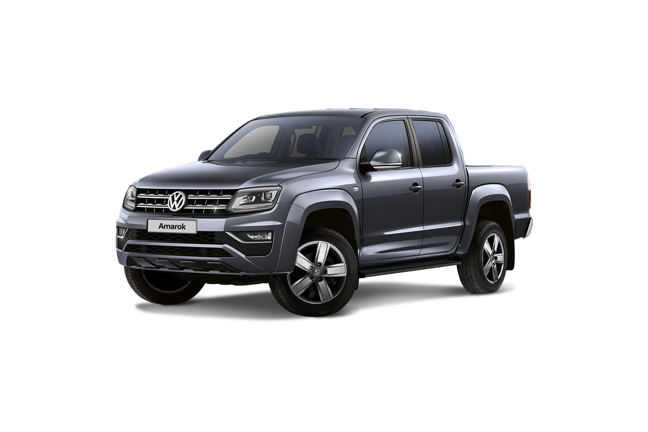 Color Gris Indio Metalizado de la Amarok Pick-Up de Volkswagen